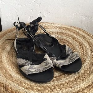 Steve Madden Laced Sandals